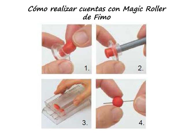 hacer fimo: