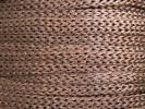 Cordón cadeneta para pelo fofuchas - Marrón x1m